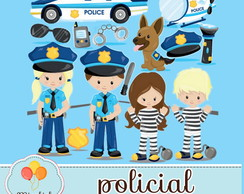 Clipart - Policial