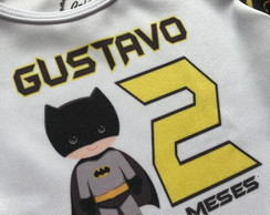 Body Mesversario Super Heróis Batman