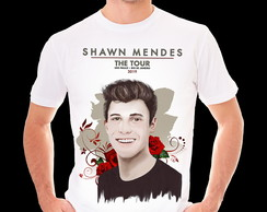 Camiseta- Baby-look- Shawn Mendes 2019 Show Sp Rj