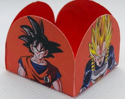 100 forminhas de doces festa tema Dragon Ball goku