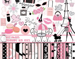 Kit Digital Scrapbook Paris