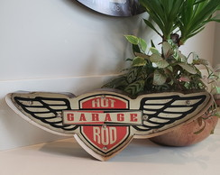 Luminoso Decorativo Hot Rod Garage