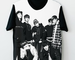Camisa Camiseta Estampada BTS K-Pop
