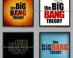 Porta-copos - The Big Bang Theory (logotipo 1)