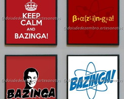 Porta-copos - The Big Bang Theory (Bazinga 2)