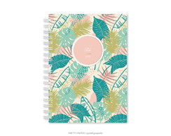 Planner Semestral - Tropical Plants