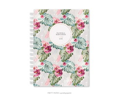 Planner Semestral - Tropical Flowers
