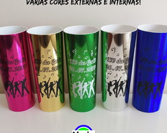 Long Drinks METALIZADOS Personalizados