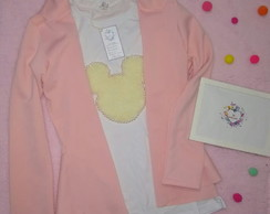 Kit Blazer Neoprene+ Camiseta minnie