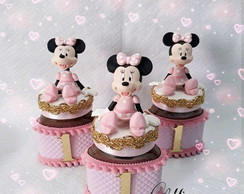 Nutella Minnie Rosa luxo