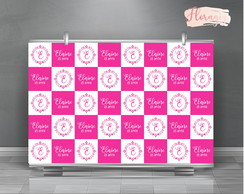 Backdrop Banner para 15 anos -Arte Digital