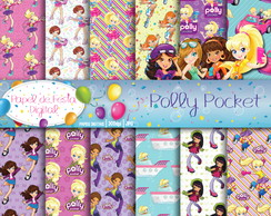 Papel Digital Polly Pocket