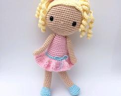Boneca em amigurumi | Bonecas, Gorro de lã | 194x244