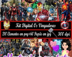 Kit Digital Os Vingadores
