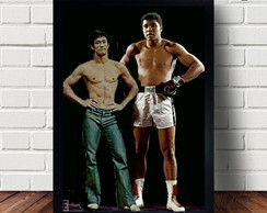 Quadro Decorativo Bruce Lee