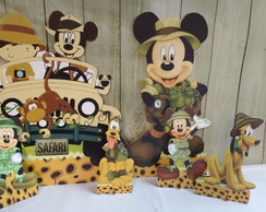 KIT DISPLAY TURMA DO MICKEY SAFARI