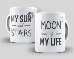 Caneca Game Of Thrones Moon of My Life