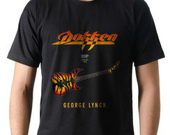 Camiseta Camisa Rock Dokken Guitarra Esp Tiger George Lynch