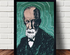 Poster Decorativo Freud