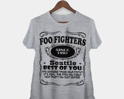 Camiseta Feminina Foo Fighters