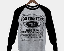 Manga Longa Foo Fighters Feminina