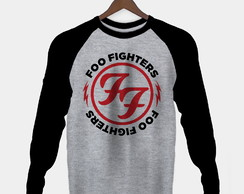 Manga Longa Foo Fighters Masculina