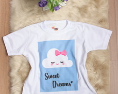 Camiseta Infantil Sweet Dreams
