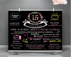 Backdrop Arte Digital 15 anos