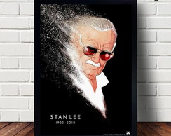 Quadro Decorativo Stan Lee