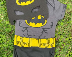 Body Baby Batman c/ Mascara