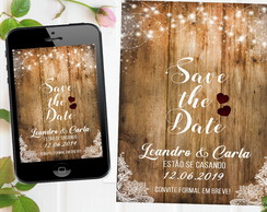 SAVE THE DATE CONVITE DIGITAL