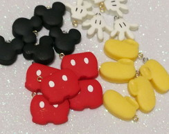 Minis apliques do Mickey em Biscuit