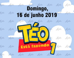 Save the date Toy Story