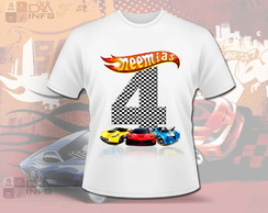 Camisa Hot Wheels