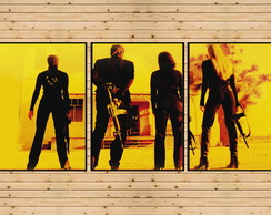 3 Quadros Decorativo Kill Bill Quentin Tarantino A3 90x42cm