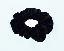 Scrunchie Veludo Preta It Girls