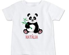 Camiseta Infantil Desenho Panda Fofo Criança No Elo7 Loja