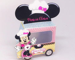 Caixa Food Truck - Minnie Confeiteira