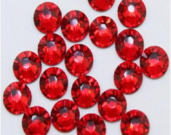 Strass Hot Fix Red 6mm
