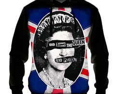 Blusa Moletom Sex Pistols - God Save the Queen