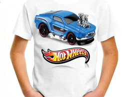 CAMISETA INFANTIL HOT WHEELS MANGA CURTA