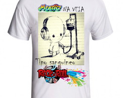 CAMISETA MUSICA NA VEIA ROCK ROLL -1