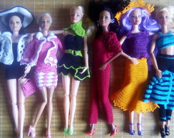 Roupinha de Barbie Urban Collors