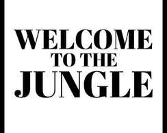 Quadro Welcome to the jungle