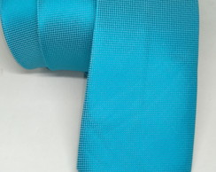 Gravata Azul Tiffany Semi Slim