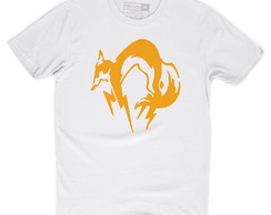 Camiseta Metal Gear Solid Fox Foxhound Snake Camisa Games