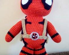 Deadpool crochet doll Amigurumi toy Comics superhero inspired ... | 194x244