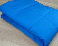 Edredom Mini Cama Azul Royal