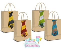 Sacola Kraft Harry Potter