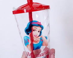 Copo Twister 500ml - Branca de Neve